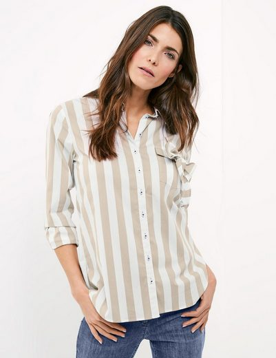 Gerry Weber Blouse 1/1 Arm Blouse With Wide Stripes