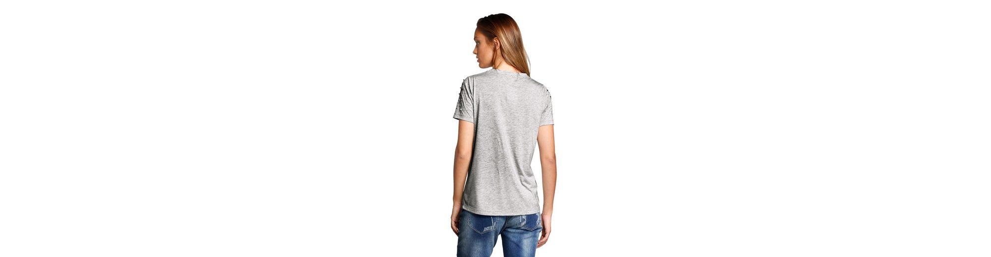 Rabatt Bester Platz Alba Moda Shirt mit Zierperlen Bestes Geschäft Zu Bekommen Online Günstig Kaufen Billig yownEj
