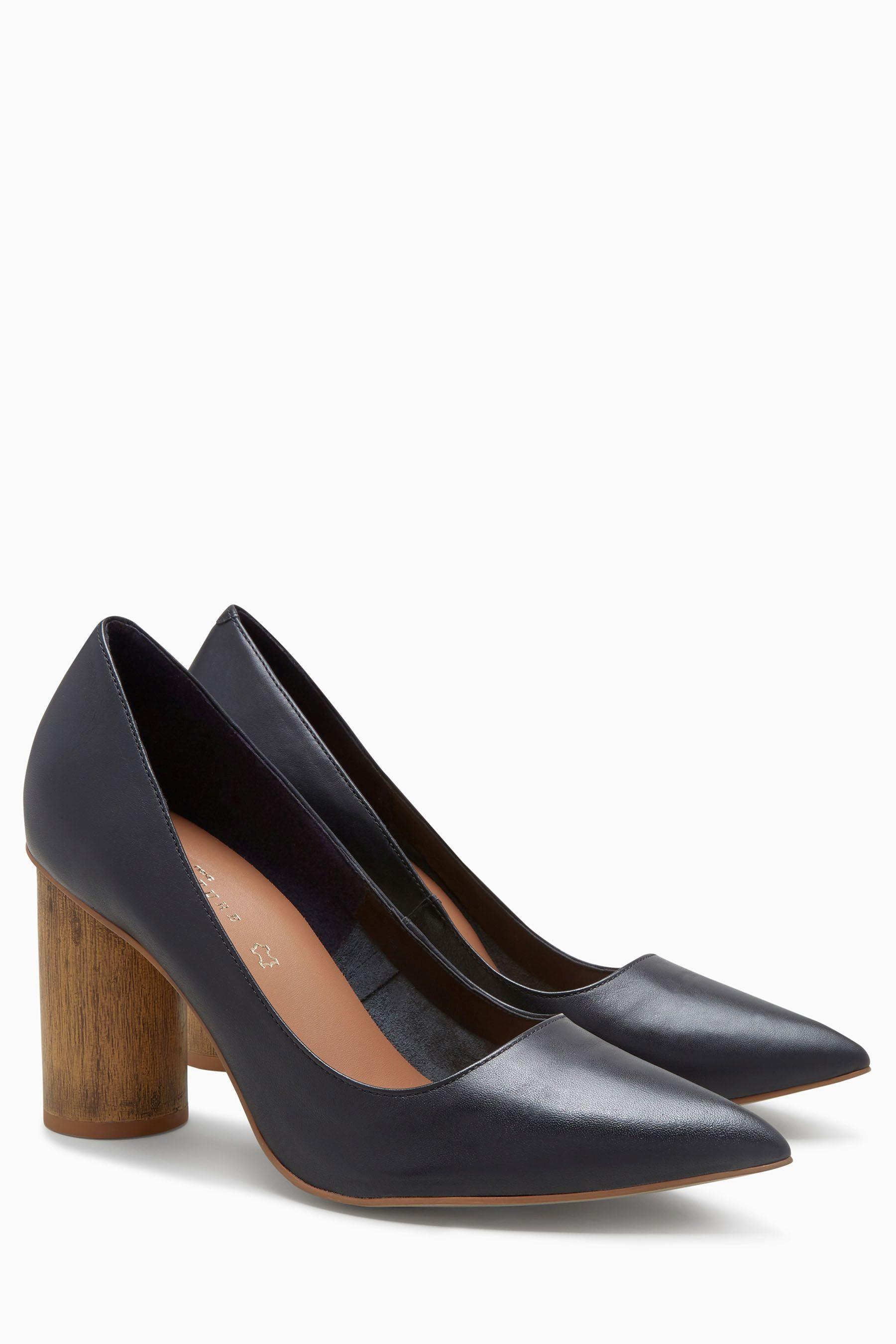 Next Schuh mit Zylinderabsatz online kaufen  Black