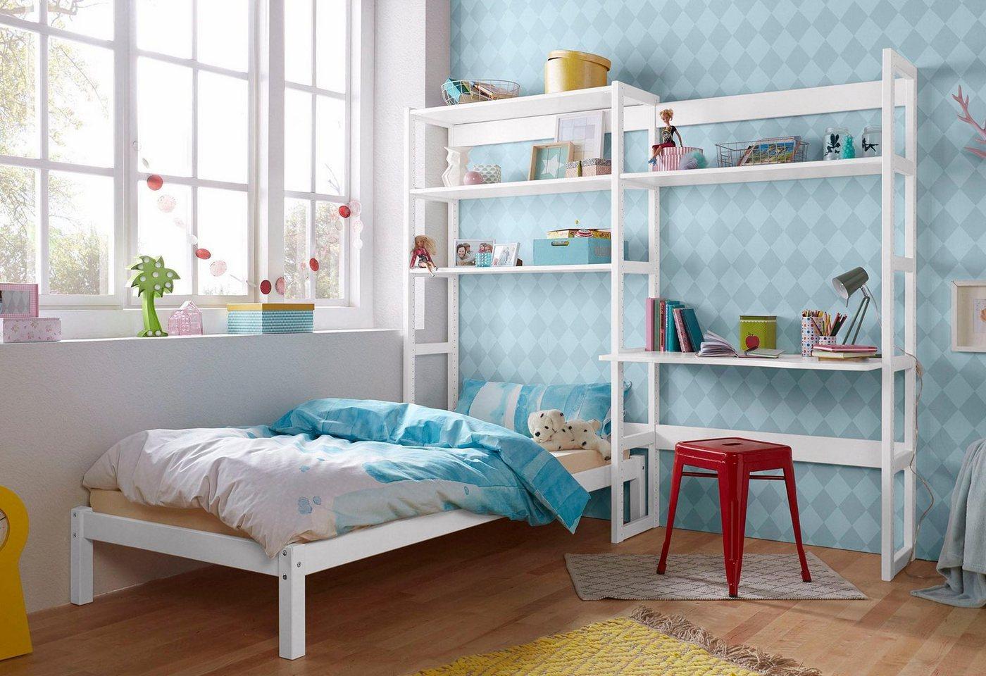 Komplettzimmer - Hoppekids Jugendzimmer Set »Skagen«, inkl. Bett und Schreibtisch  - Onlineshop OTTO