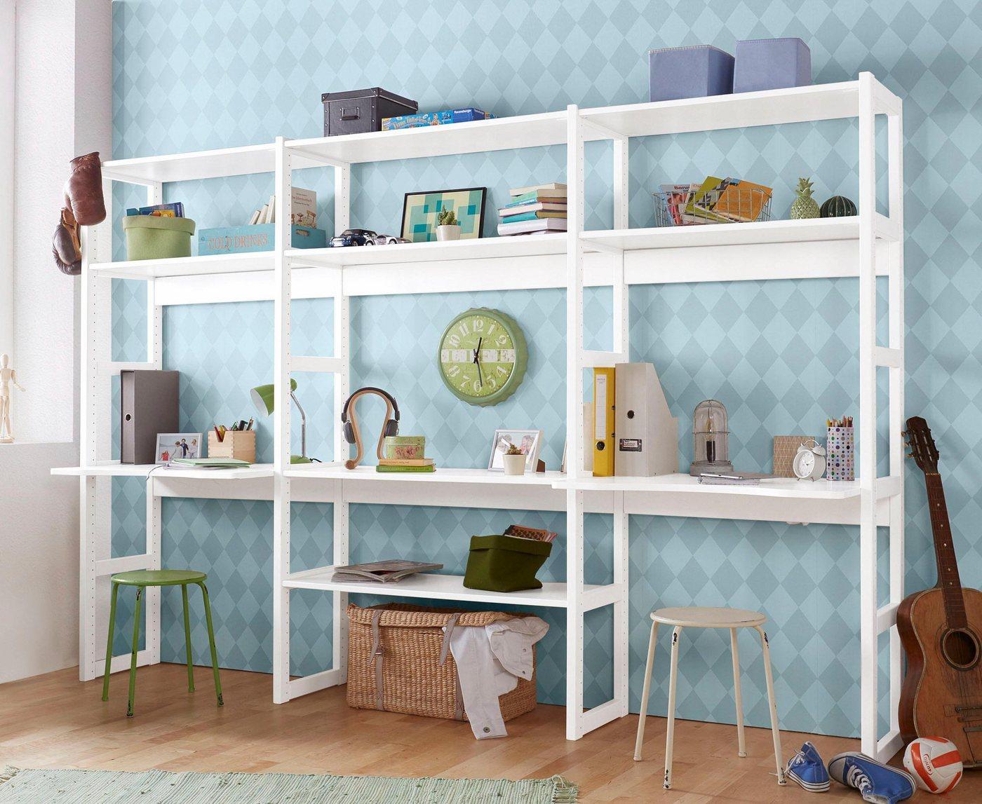 Komplettzimmer - Hoppekids Jugendzimmer Set »Skagen«, inkl. Schreibtisch  - Onlineshop OTTO