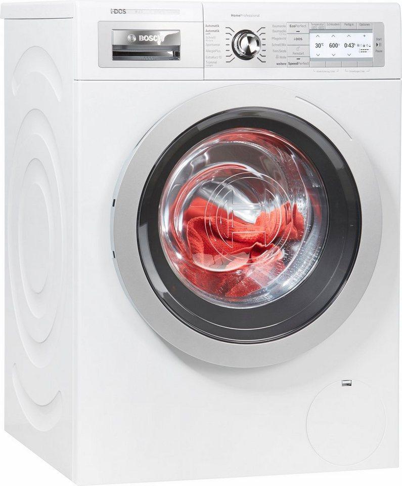 bosch waschmaschine homeprofessional wayh2841 8 kg 1600 u min i dos dosierautomatik online. Black Bedroom Furniture Sets. Home Design Ideas