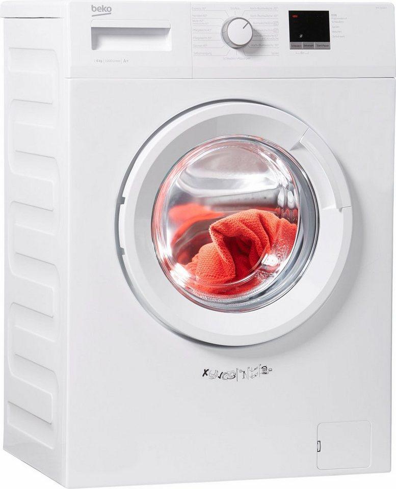 beko waschmaschine wml 16106 n 6 kg 1000 u min otto. Black Bedroom Furniture Sets. Home Design Ideas