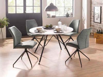 Esstisch Mit Stühlen essgruppe kaufen esstisch mit stühlen tischgruppe otto
