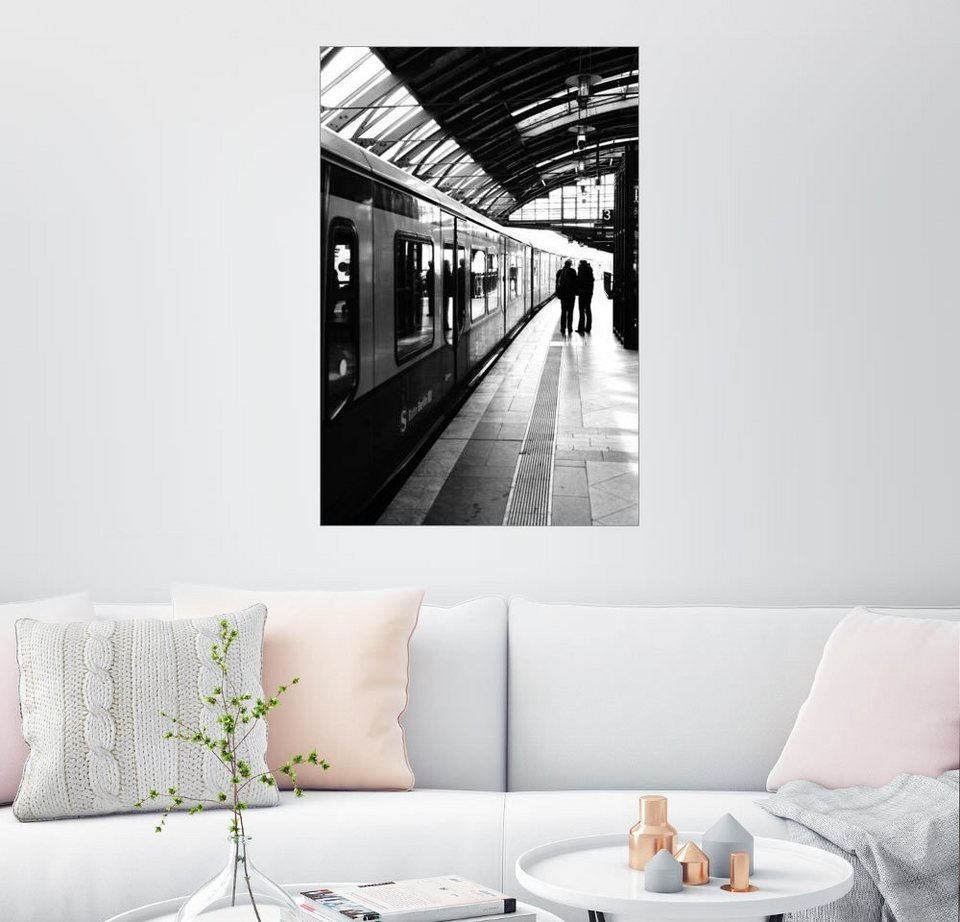 posterlounge wandbild falko follert art ff77 s bahn berlin schwarz wei foto online kaufen. Black Bedroom Furniture Sets. Home Design Ideas