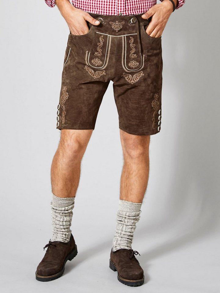 men plus by happy size -  Kurze Trachten-Lederhose