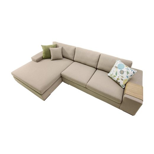 Sophisticated Living links »Local Sofa 2,5-Sitzer mit Chaiselongue«