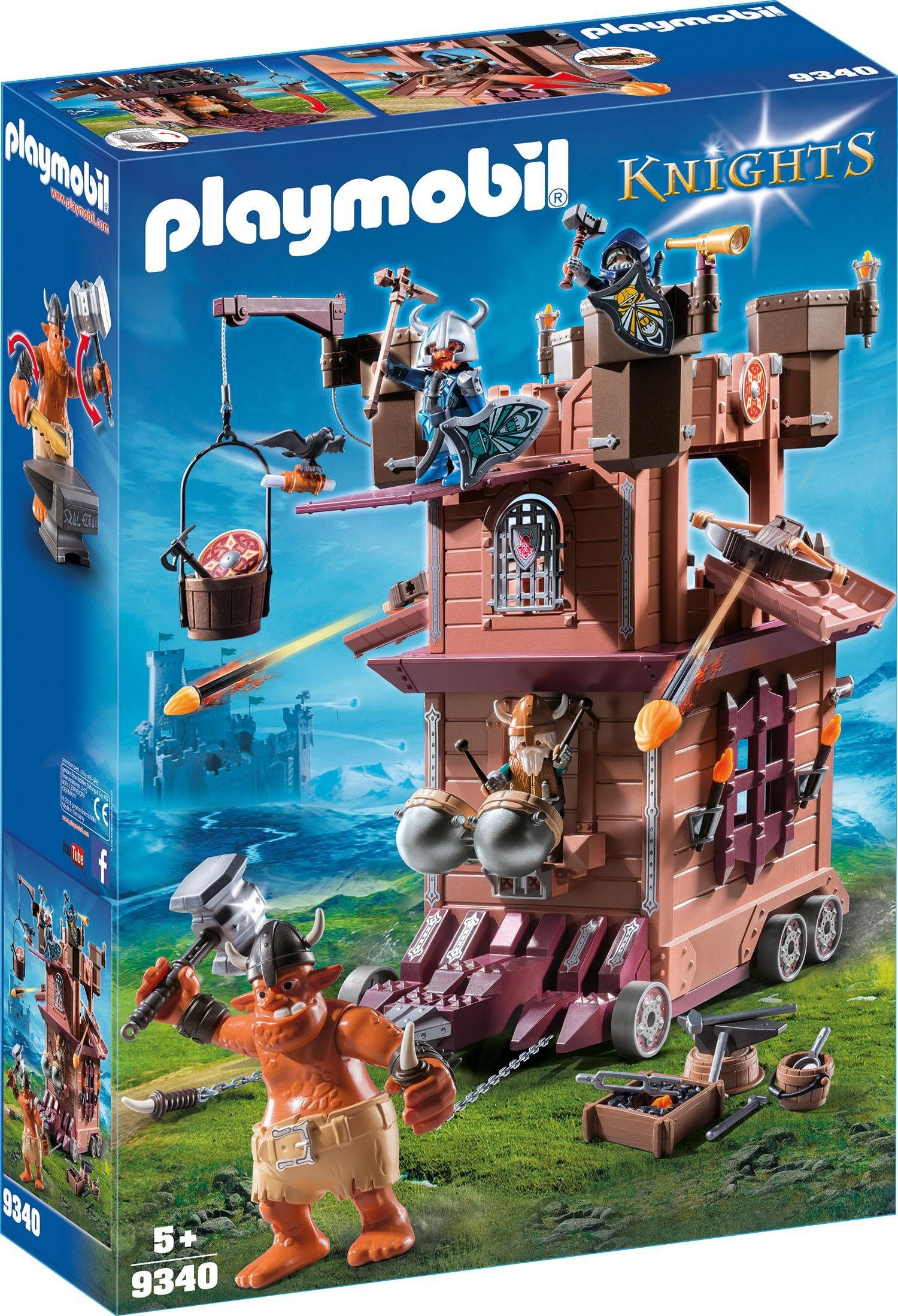 Playmobil® Mobile Zwergenfestung (9340), »Knights«
