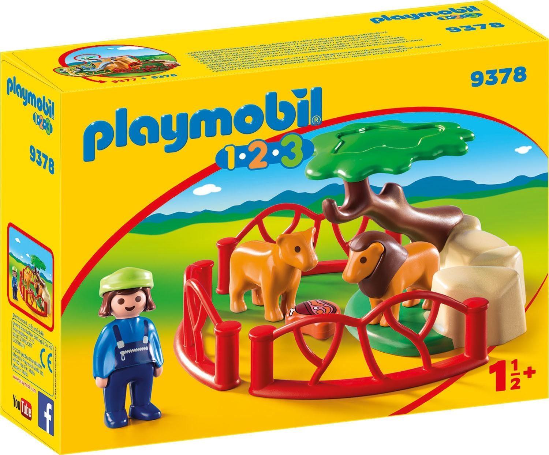 Playmobil® Löwengehege (9378), »Playmobil 1-2-3«