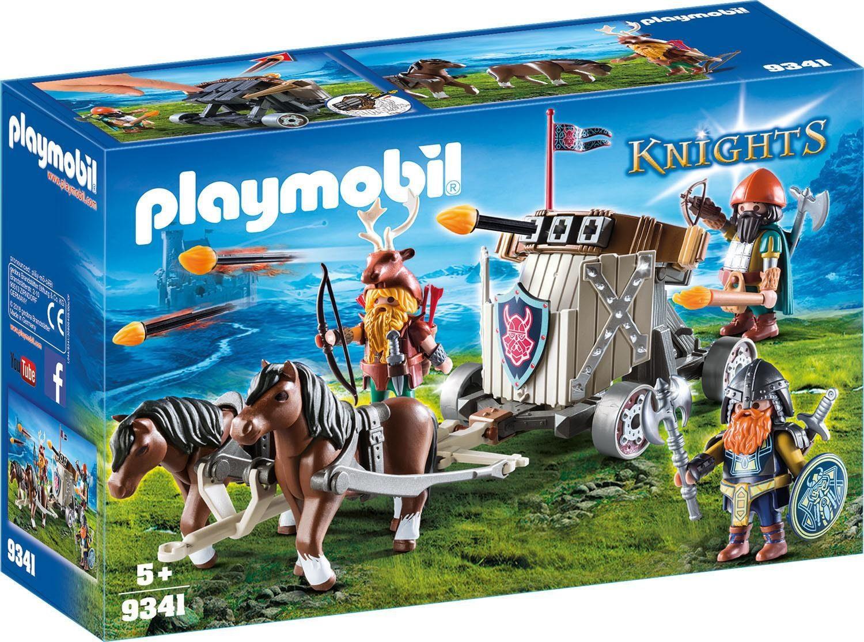 Playmobil® Ponygespann mit Zwergenballiste (9341), »Knights«