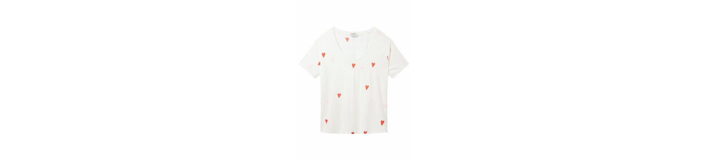 Scotch & Soda T-Shirt, mit Herzchen-Druck
