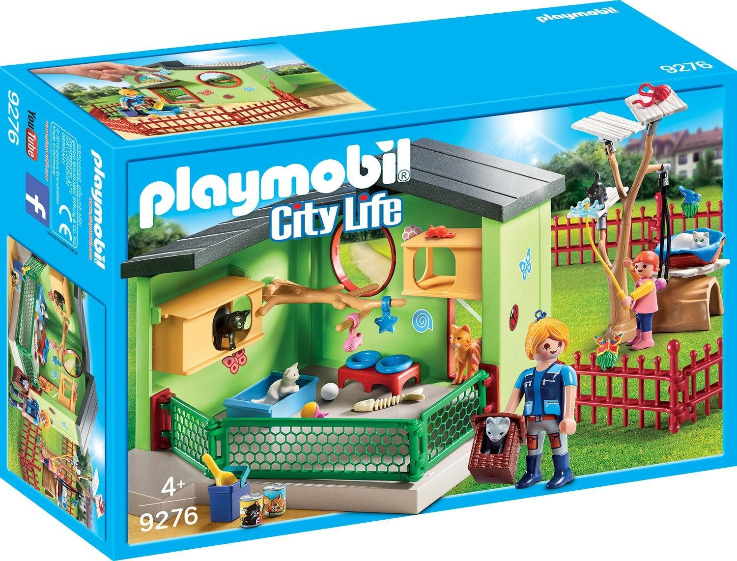 Playmobil® Katzenpension (9276), »City Life«