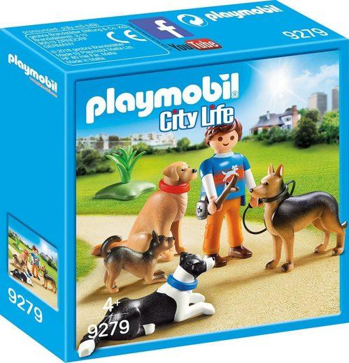 Playmobil® Konstruktions-Spielset »Hundetrainer (9279), City Life«