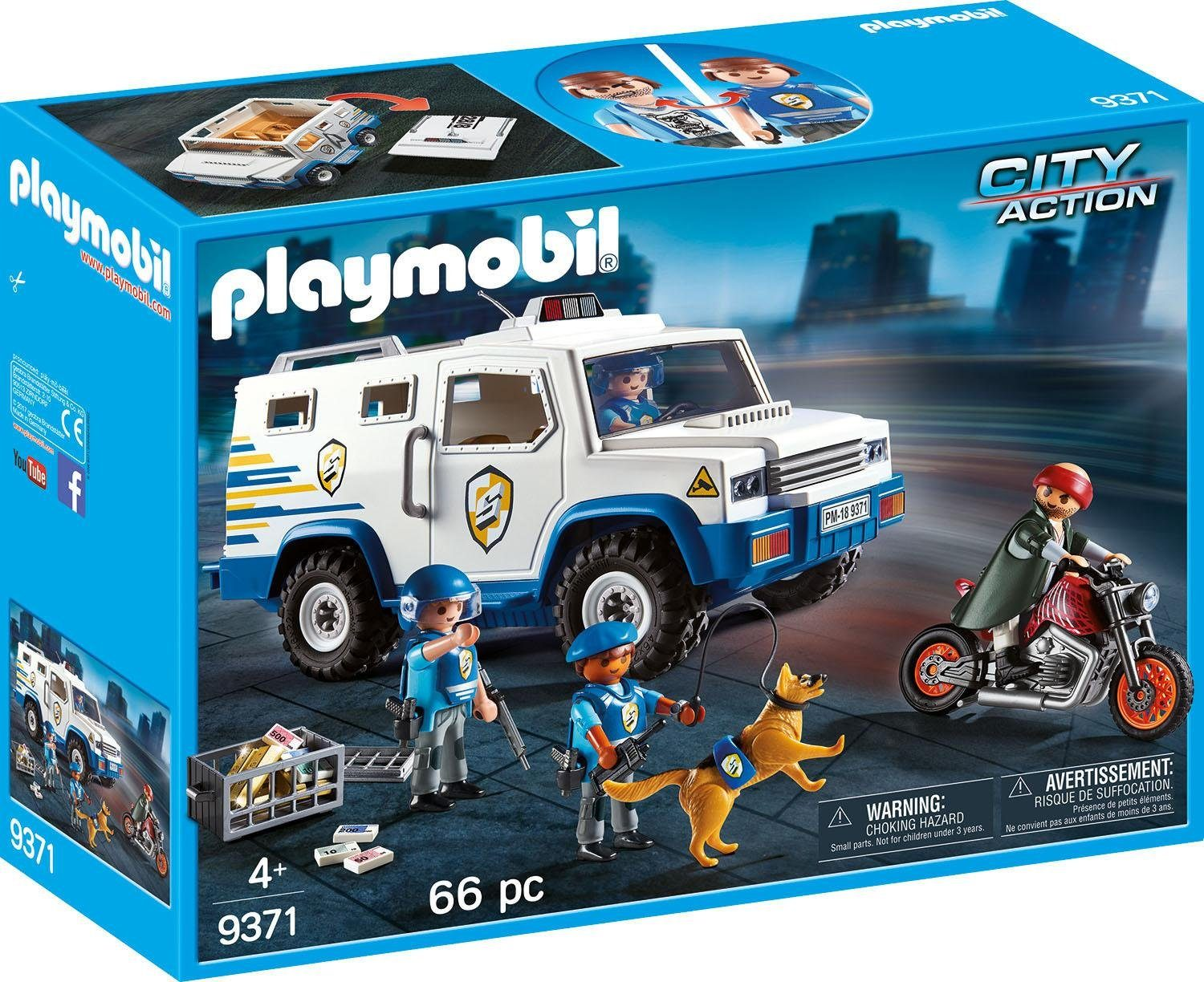 Playmobil® Geldtransporter (9371), »City Action«