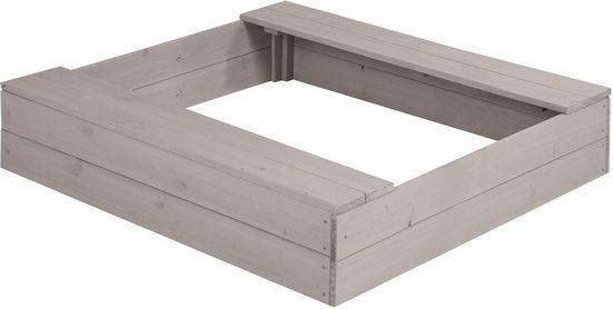 roba® Sandkasten »97,5 x 97,5 cm«