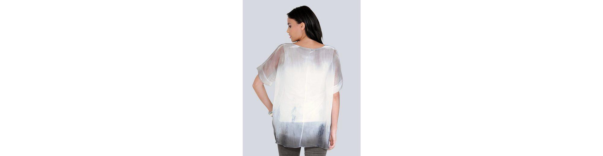 Alba Moda 2-in-1-Bluse Modischer Print mit Farbverlauf  Wie Viel Freies Verschiffen Echte Billig Billig Austrittsstellen Online ZGWqhZMtuc