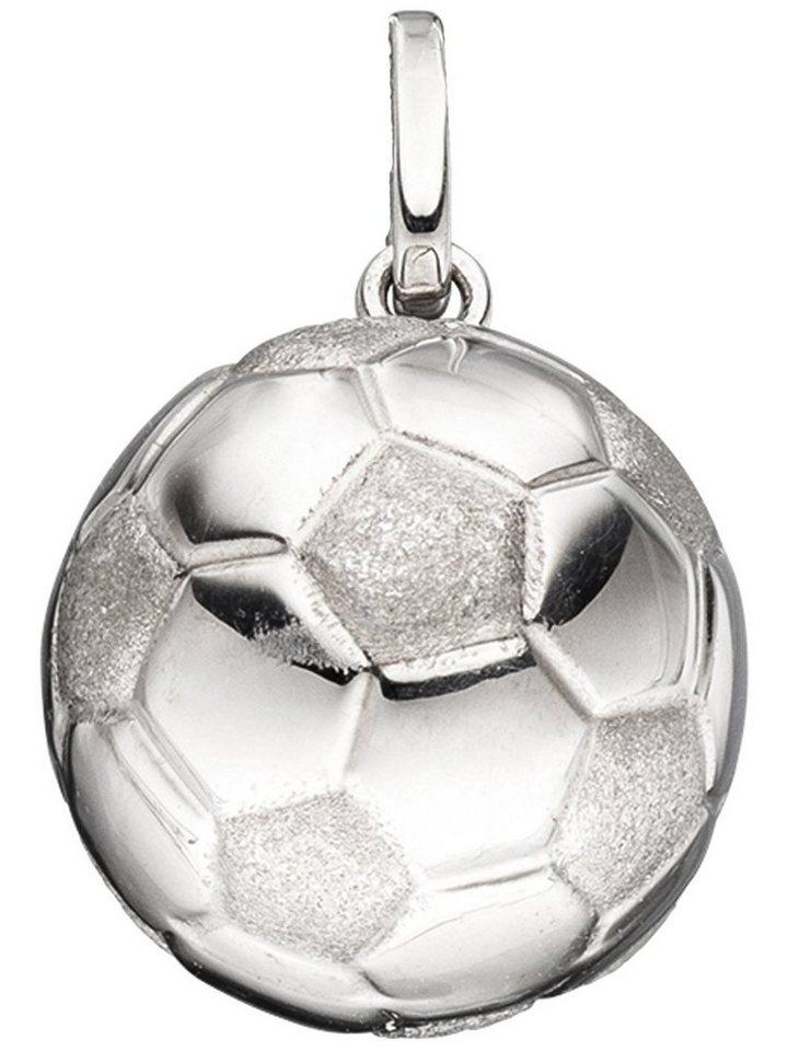 Adelia´s Kettenanhänger »Fußball Anhänger« 925 Silber Ø 12,40 mm | Schmuck > Halsketten > Ketten ohne Anhänger | Adelia´s