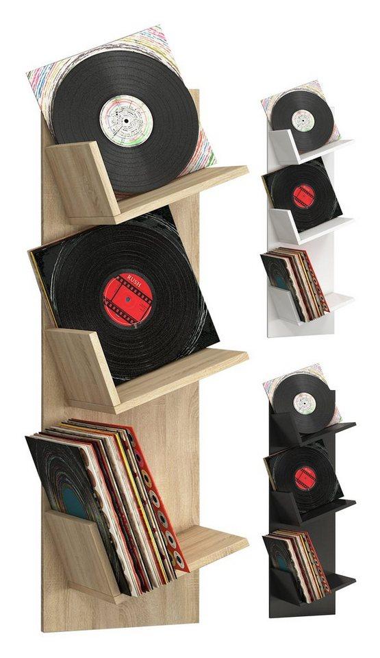 schallplatten regale machen sie den preisvergleich bei. Black Bedroom Furniture Sets. Home Design Ideas