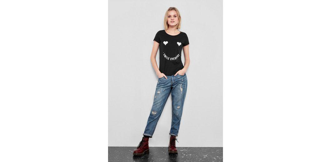 Q/S designed by T-Shirt mit verspieltem Print Die Offizielle Website Zum Verkauf Zum Verkauf Großhandelspreis Verkauf Großer Diskont Fälschung Günstiger Preis 1Efdoabwn