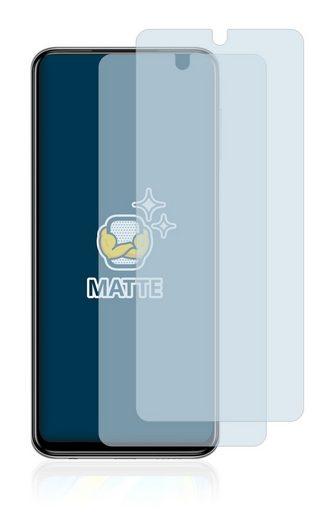 BROTECT Schutzfolie »für Xiaomi Redmi Note 9 Pro«, (2 Stück), Folie Schutzfolie matt entspiegelt