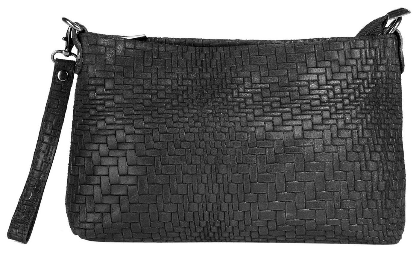 Damen Cluty Abendtasche besonders leicht schwarz   04260543032326