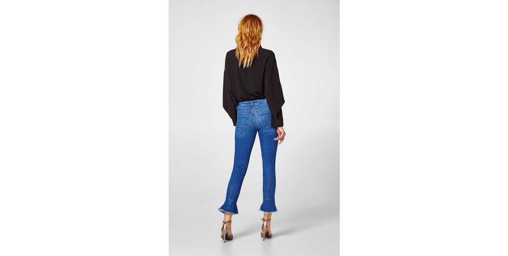 Günstig Kaufen Besten Großhandel ESPRIT Stretch-Jeans mit Trompetensaum Freies Verschiffen Visum Zahlung 6SY2JjfwZ