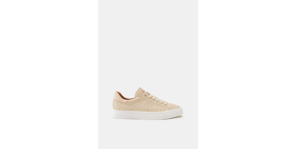 Freies Verschiffen Sammlungen ESPRIT Trendiger Sneaker in Reptil-Optik Freies Verschiffen Versorgung Kostengünstig Billig Verkauf 100% Garantiert Online l1bQb6X