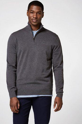 ESPRIT Feinstrick-Sweater aus reiner Baumwolle