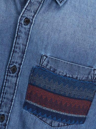 Jack & Jones Lässiges Langarmhemd