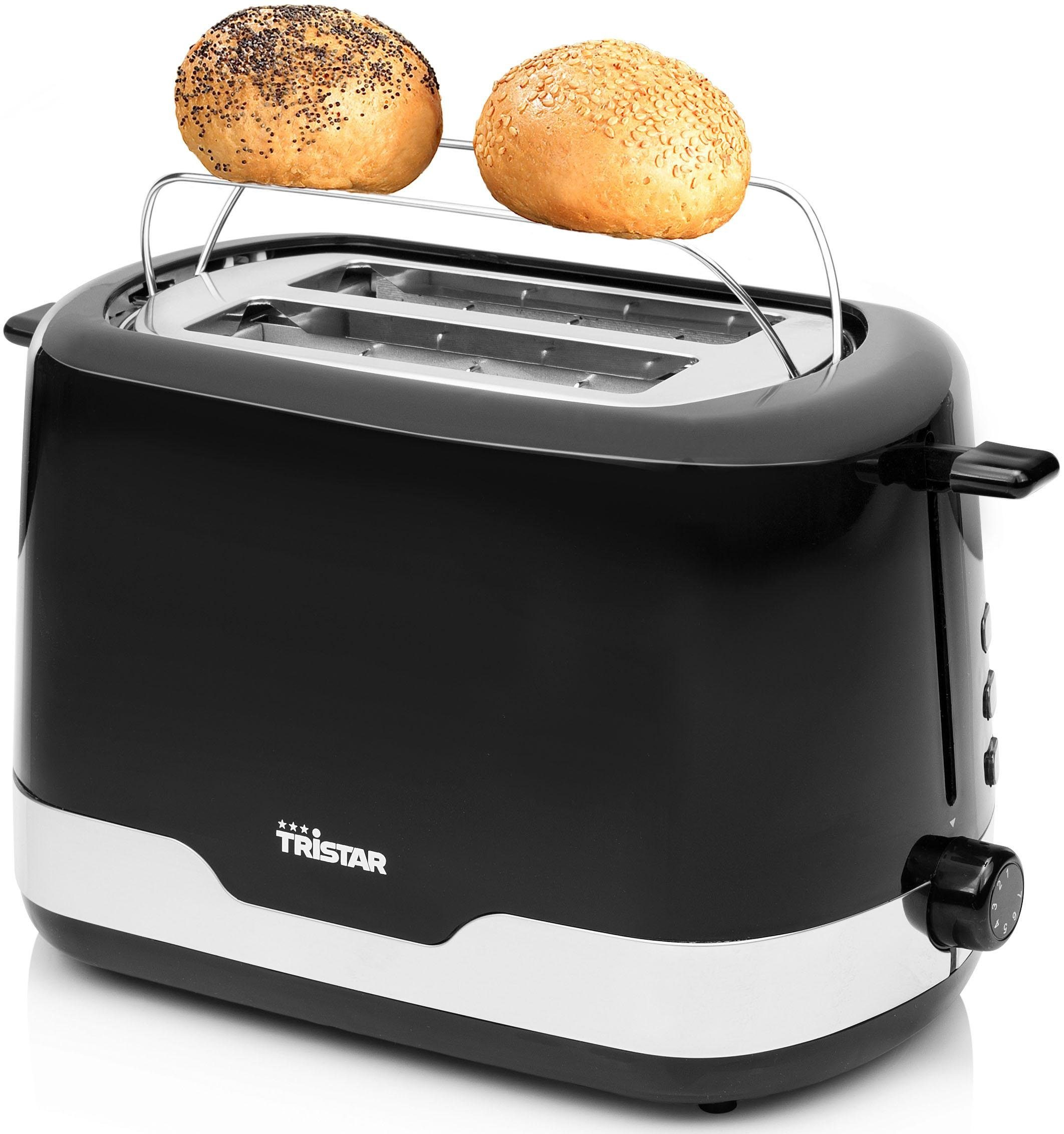 Tristar Toaster BR-1042, mit Edelstahlakzenten, 850 Watt