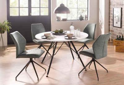Esstisch Und Stühle essgruppe kaufen esstisch mit stühlen tischgruppe otto