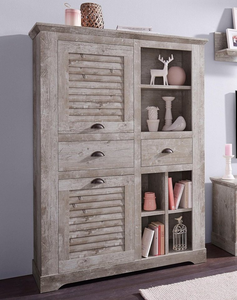 forte highboard breite 120 cm online kaufen otto. Black Bedroom Furniture Sets. Home Design Ideas
