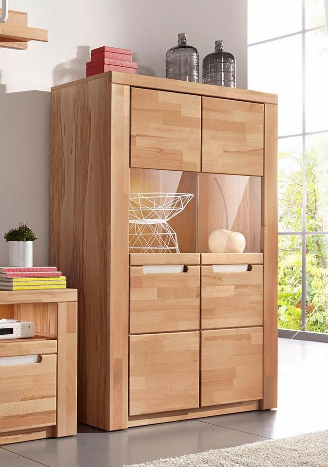 highboard kolding breite 100 cm mit 2 glast ren otto. Black Bedroom Furniture Sets. Home Design Ideas