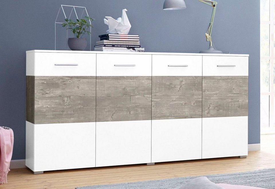 sideboard breite 160 cm online kaufen otto. Black Bedroom Furniture Sets. Home Design Ideas