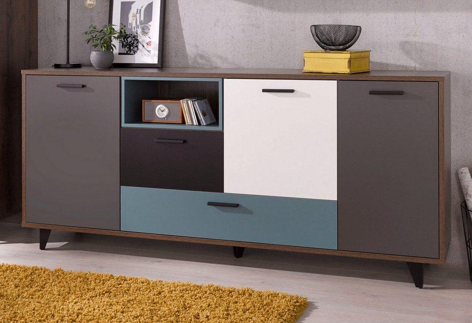 Forte Sideboard Breite 213 9 Cm Online Kaufen Otto