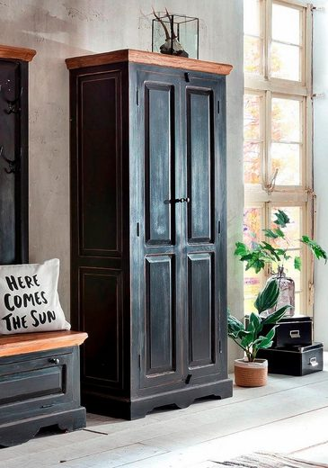 SIT Drehtürenschrank »Corsica« mit zwei Türen, Höhe 180 cm, Shabby Chic, Vintage