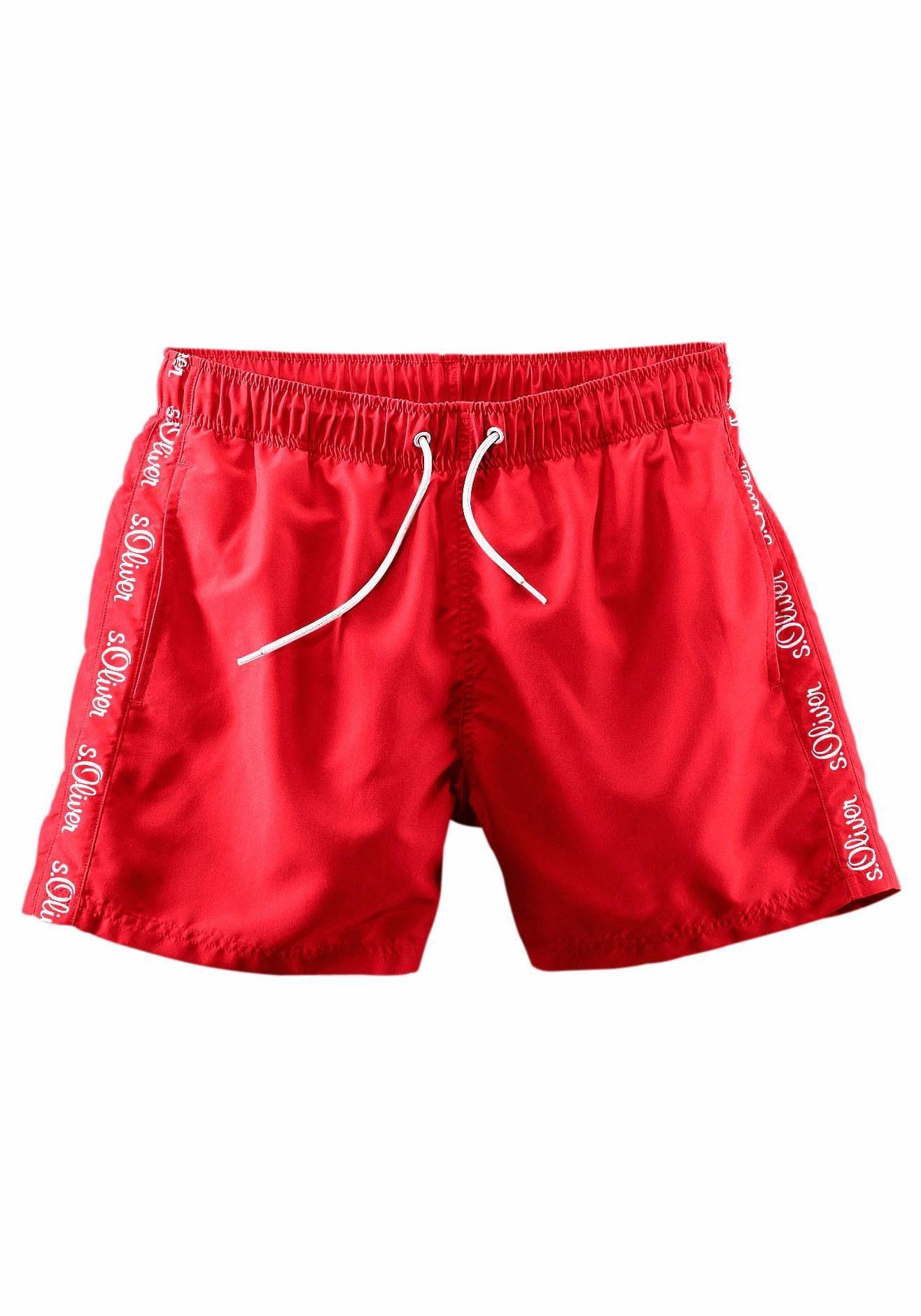 Logodruck oliver Kaufen S Beachwear Seitlichem BadeshortsMit Online tsxhQdrC