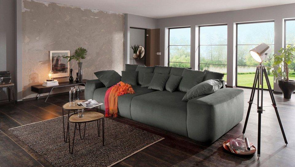 Home Affaire Big Sofa Sundance Mit Vielen Kissen Breite 302 Cm