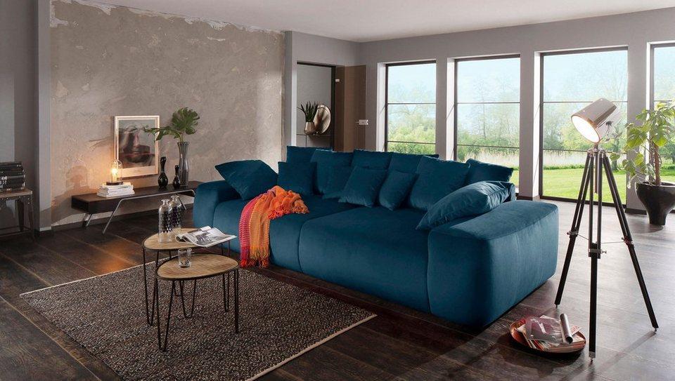 Home affaire Big-Sofa »Sundance« mit vielen Kissen, Breite 302 cm ...