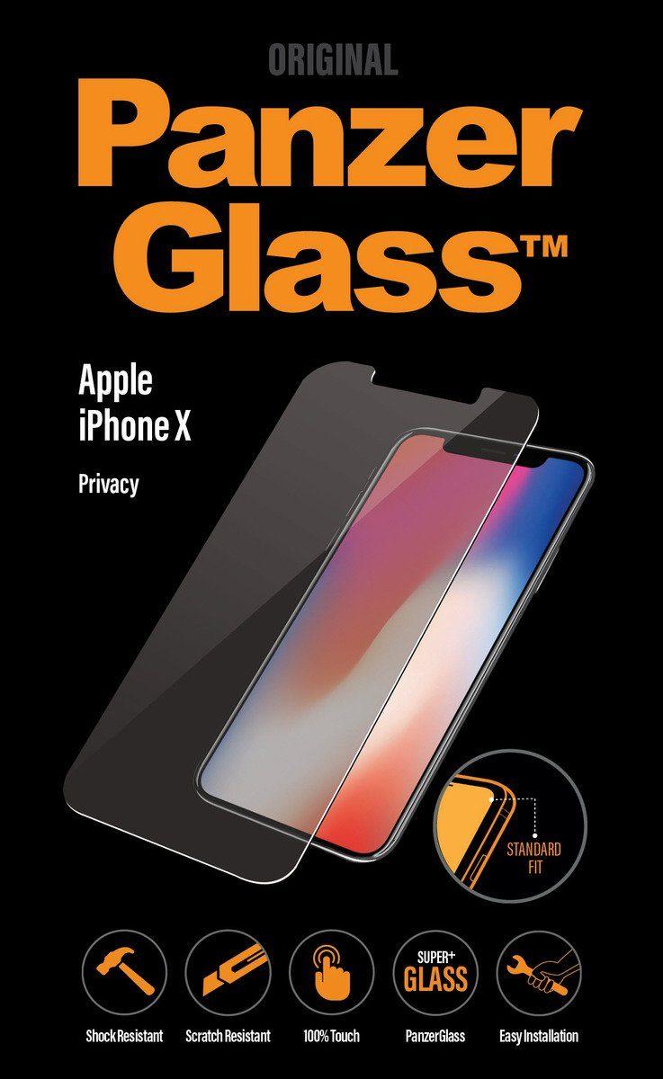 Panzerglass Glasfolie »PRIVACY für iPhone X«
