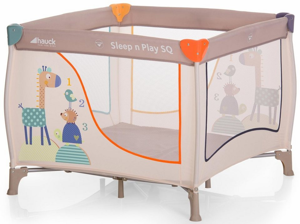 Hauck fun for kids laufstall mit tragetasche »sleepn play sq