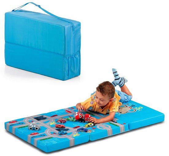 Klappmatratze »FUN FOR KIDS, Sleeper Playpark, 60x120 cm«, Hauck, 6 cm hoch, Inklusive Transporttasche