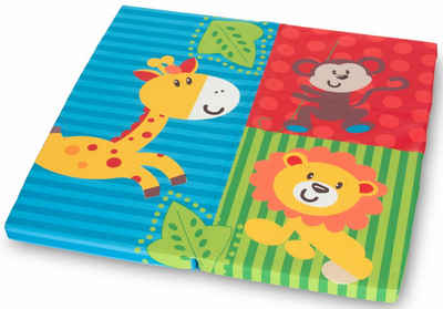 Klappmatratze »FUN FOR KIDS, Sleeper SQ Jungle Fun 90x90 cm«, Hauck, 5 cm hoch