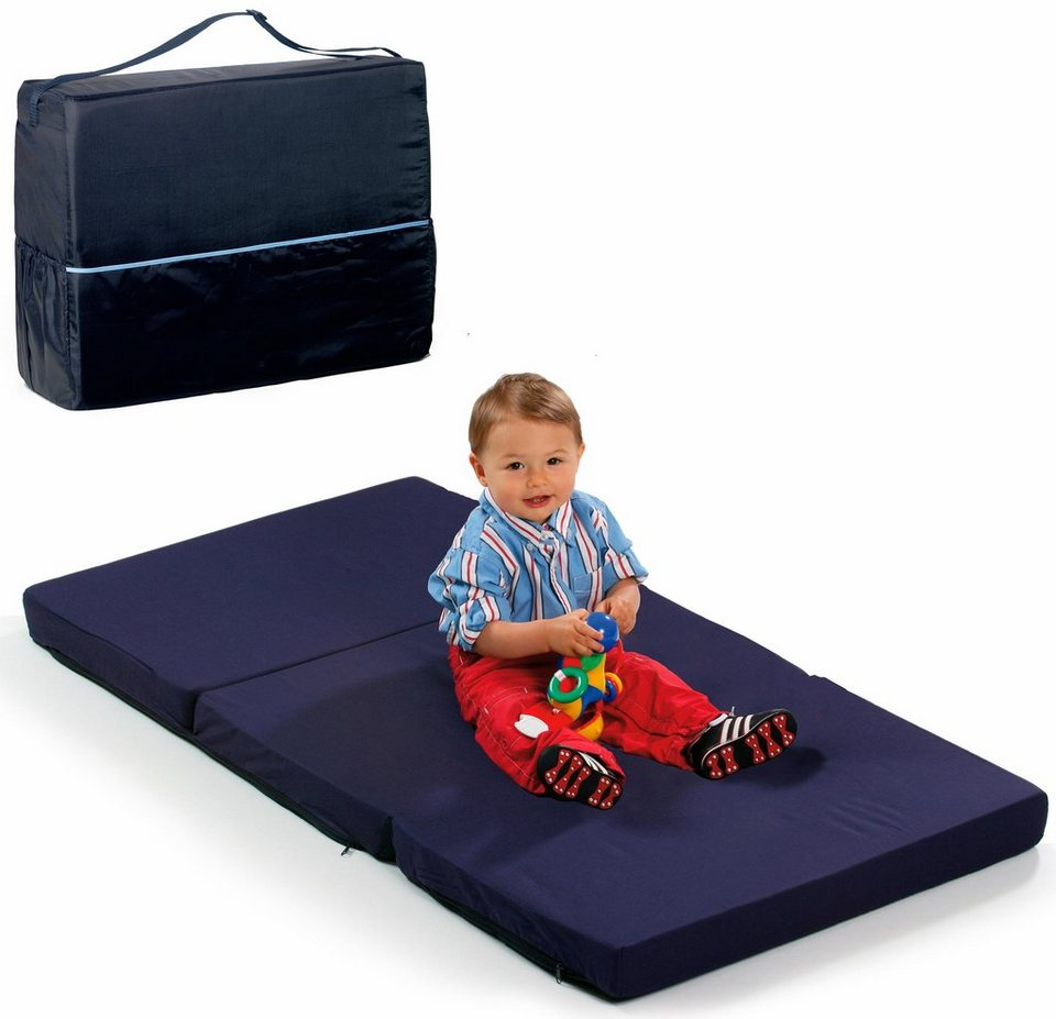 hauck fun for kids reisebettmatratze 60x120 cm sleeper uni navy online kaufen otto. Black Bedroom Furniture Sets. Home Design Ideas