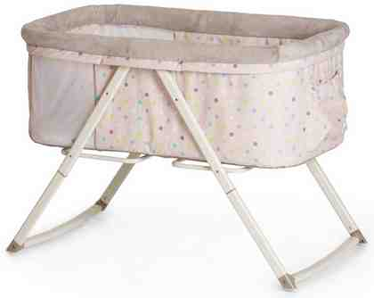 hauck FUN FOR KIDS Beistellbett, »Dreamer Multi Dots Sand«
