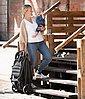 Hauck Dreirad-Kinderwagen »Rapid 3 Caviar/Türkis«, mit schwenk- und feststellbarem Vorderrad; Kinderwagen, Jogger, Dreiradwagen, Jogger-Kinderwagen, Dreiradkinderwagen, Bild 8