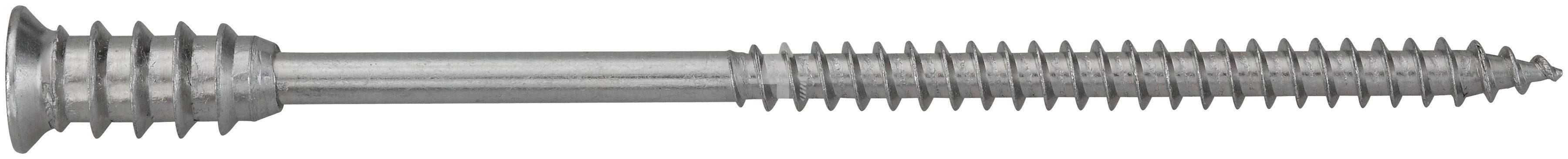 RAMSES Schrauben , Justierschraube Holz/Beton 6 x 80 mm 50 Stk.