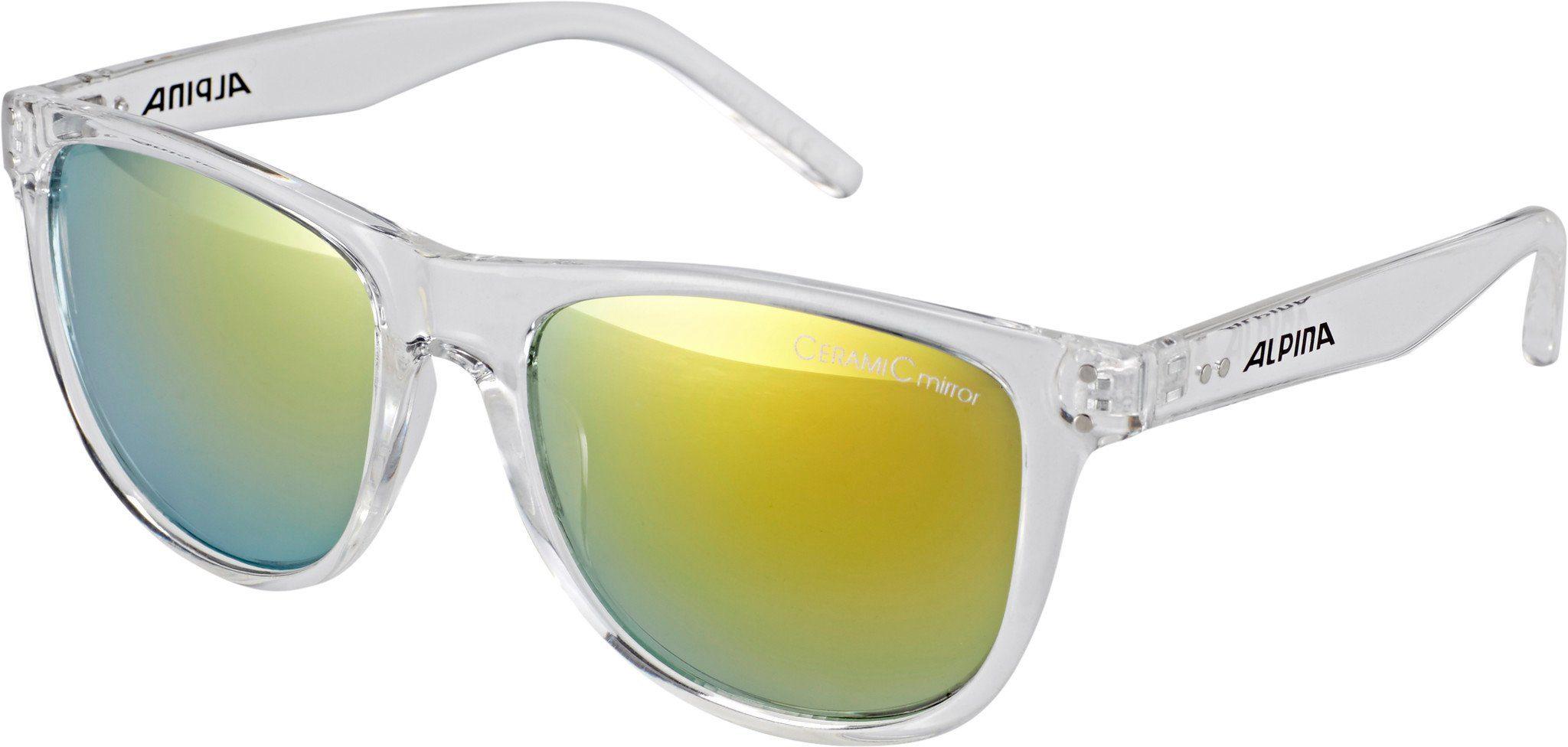 Alpina Sportbrille »Ranom«, weiß, transparent