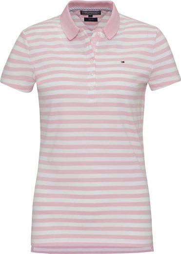 Tommy Hilfiger Poloshirt NEW CHIARA STR PQ POLO SS STP