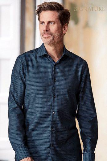 Next Slim-Fit Hemd aus ägyptischer Baumwolle